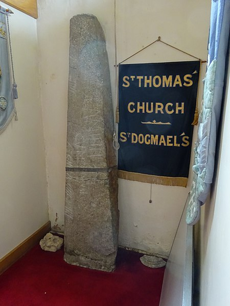 450px-Llandudoch_-_St_Dogmaels_-_Saint_Thomas'_Church_Stone_08